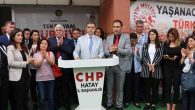 CHP'de adaylar seçim gezilerinde