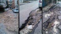 Antakya-Defne Sokakları delik deşik