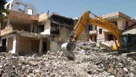 Kentsel Dönüşümde  yıkım sürecine devam