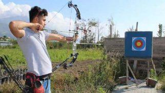 Türkiye Okçuluk Şampiyonasında 2.lik Hatay'ın