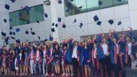 Sınav Koleji Mezunları Kep Attı