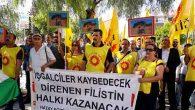 Eğitim Sen'li Öğretmenler Protestosu İsrail ve AB'ye