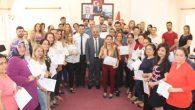 Samandağ'da 90 Girişimciye  Sertifika