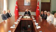 Türk-İş Heyeti Valilikte