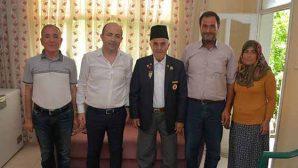 Kaymakam Uygur'dan vefalı ziyaret
