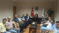 AKP Heyetinden  Baro Ziyareti