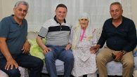 Savaş'ın ziyareti 94 yaşındaki Başkan Annesine
