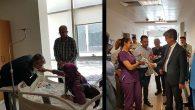 İl Müdürü, hastaların  bayramını kutladı