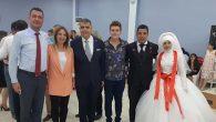CHP'li Başkan evlenerek  mutlu yuvasını kurdu