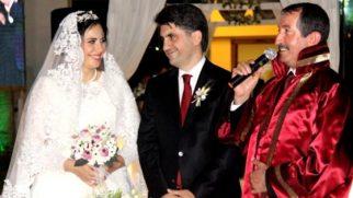 Belen Kaymakamı evlendi