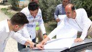 Mızraklı'ya yeni kanalizasyon şebekesi …
