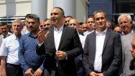 MHP'liler Adliye bahçesine karargah kurdu!