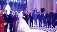Vali kızı düğününe;