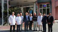 Vali Ata, Özel Sağlık ve Eğitim Yatırımları ziyaretinde