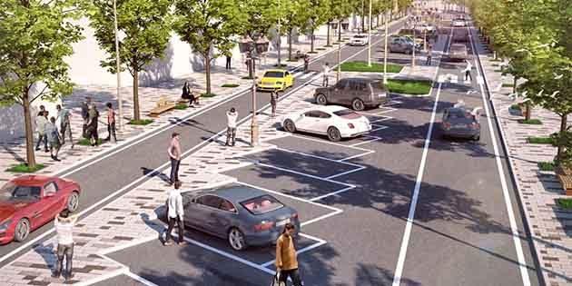 Atatürk Caddesi  Çift Yön…