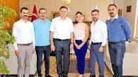 Bilardo temsilcilerinden Başkan Savaş'a teşekkür ziyareti