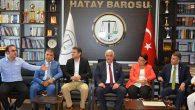 CHP'li vekillerden BARO Ziyareti