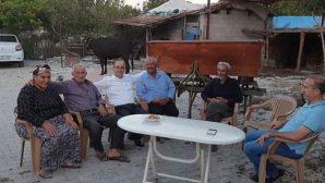 Türkmen, teşekkür gezilerini sürdürüyor