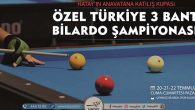 Hatay'da Bilardo Turnuvası