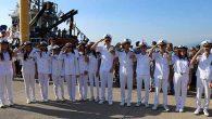 Savaş gemilerine  vatandaş ziyareti