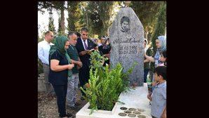 CHP Milletvekili Güzelmansur, Mezarda Kur'an Okudu