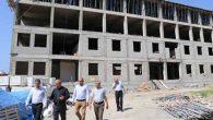 Karahan, okul inşaatlarını gezdi