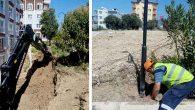 Defne Belediyesi parkları yeniliyor