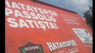 İskenderun'da Passolig Reklamı Var