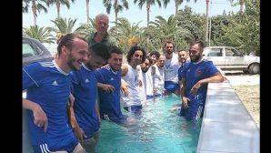 Hatayspor'da Serinleme Havuzu
