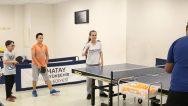 Masa tenisine yoğun ilgi …