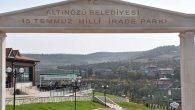 Altınözü Milli İrade Parkı'na Seyir Terası