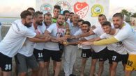 Arsuz'da Plaj Futbol Turnuvası sona erdi