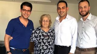 CHP'den Hatay'daki en yaşlı  üyesine ziyaret