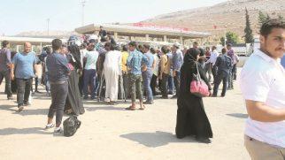 Suriyeliler memleketlerine dönüyor …