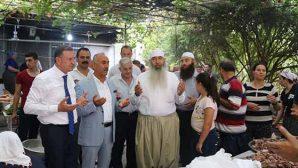 Savaş, Gadir Hum  kutlamasına  Arsuz'da katıldı