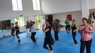 Samandağlı Kadınlara Step-aerobik