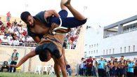 Uluslararası Aba Güreşi'nde Şampiyon; Türkiye …
