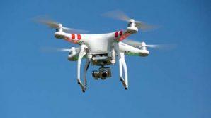 Antakya'da Drone ile trafik kontrolü