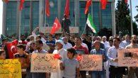 Reyhanlı'da  İdlip Protestosu