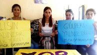 Duruşmaya kadınlardan destek: