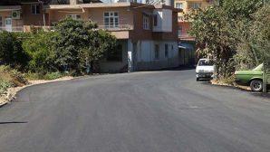 Odabaşı'na asfalt takviyesi