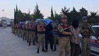 Suriye'de Yakalanan 9 Terörist,  Hatay'a Getirildi …