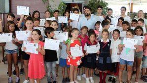 Minikler ve gençlere yelken sertifikası