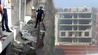 Samandağ'da inşaat işçisi 5.kattan düştü