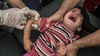 Suriyeli çocuklara sınırda aşı