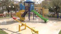 Armutlu parkı yenilendi