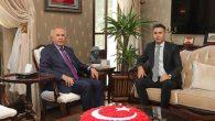 Ataman'dan Vali Ata'ya ziyaret