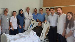 Hatay Devlet Hastanesinde: