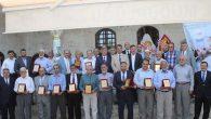 Müftülükten Emekli Hocalara Plaket