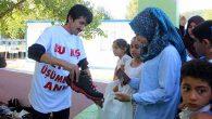 Simitçi Erkan'ın yardımları sürüyor